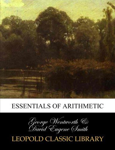 Essentials of arithmetic