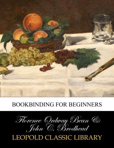 Bookbinding for beginners