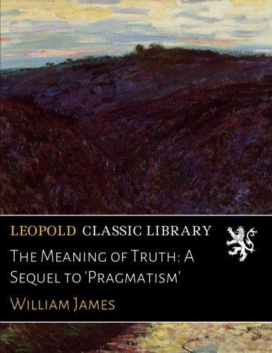 classics essay hafner in library pragmatism Complement it with james on choosing essays in pragmatism (hafner library of classics): william james essays in pragmatism (hafner library of classics.