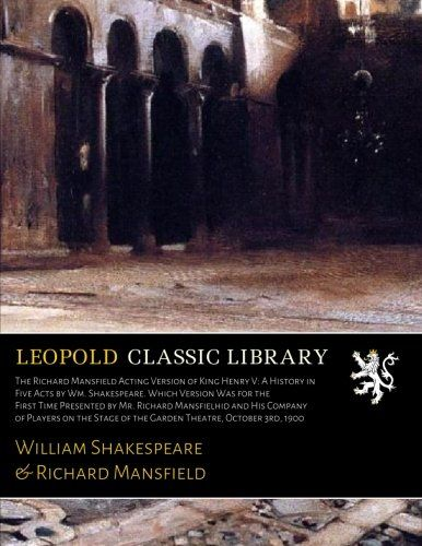 Shakespeare Full-Text Online via the Online Books Page